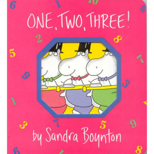 Boynton: One, Two, Three! - Paperback