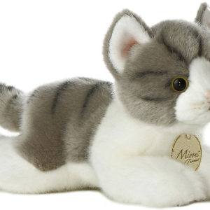 Miyoni - Grey Tabby Cat 8in