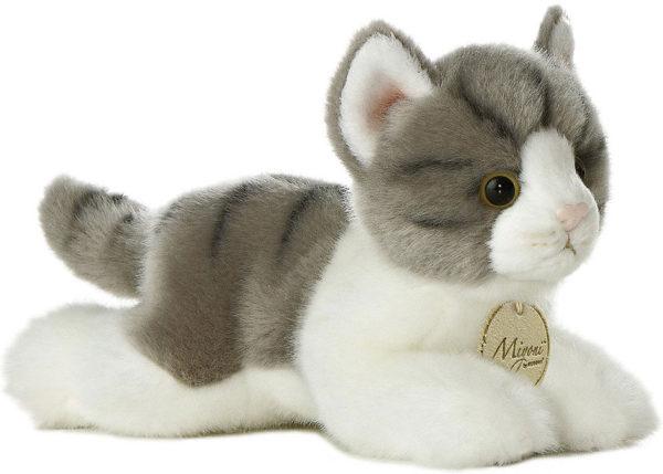 Miyoni - Grey Tabby Cat 8in