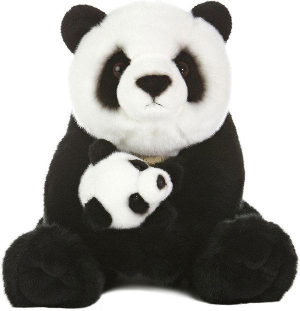 Miyoni - Panda With Cub 15in
