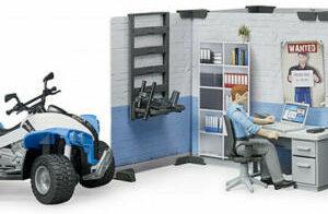 Bworld Set Police Station
