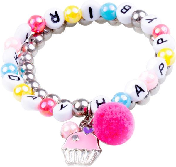 Happy Birthday Bracelet (2 pcs)