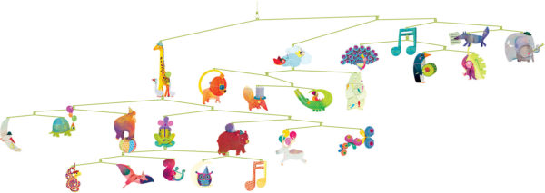 Polypro Mobiles Carnival of Animals