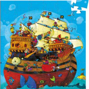 Silhouette Puzzles Barbarossa's Boat - 54pcs