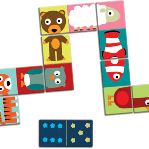 My First Games Animo-Puzzle Domino