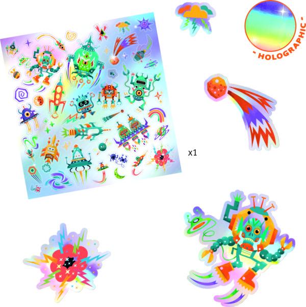Pg Stickers Intergalactic