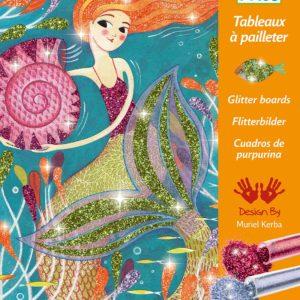 Le Grand Artist - Glitter Boards Mermaids Lights