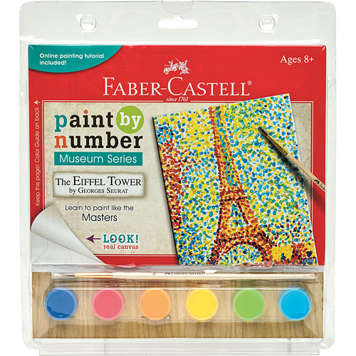 Paint By Number Museum Series-The Eiffel Tower