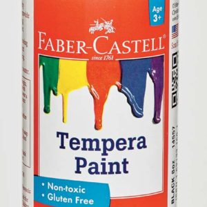 Black Tempera Paint (8 oz bottles)