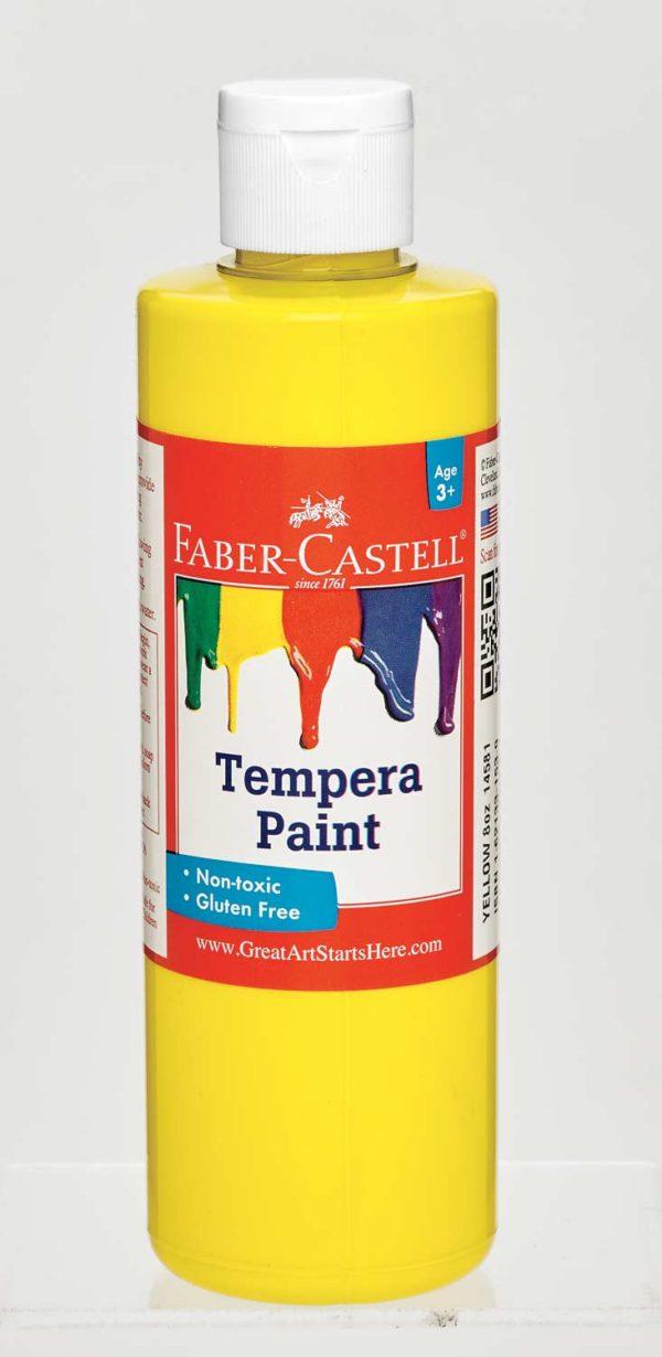 Yellow Tempera Paint (8 oz bottles)