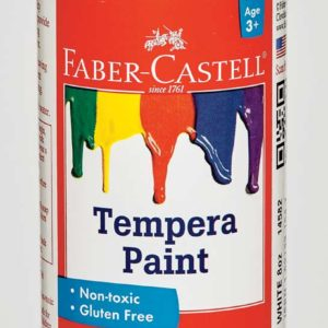 White Tempera Paint (8 oz bottles)