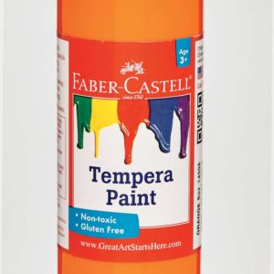Orange Tempera Paint (8 oz bottles)