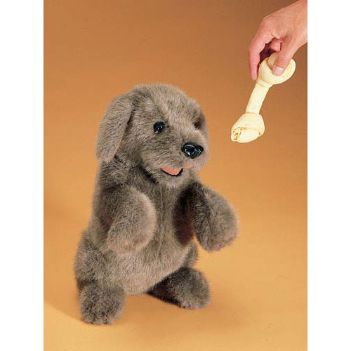 Dog, Sitting Hand Puppet