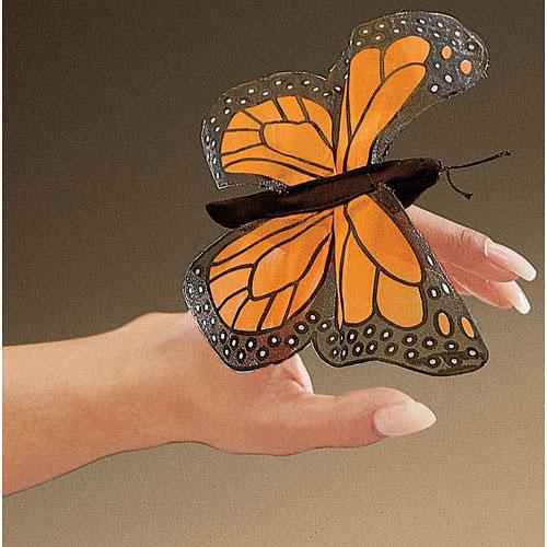 Mini Butterfly, Monarch Finger Puppet
