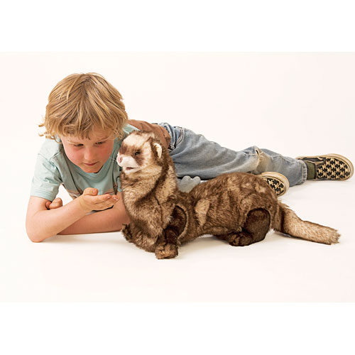 Ferret Hand Puppet