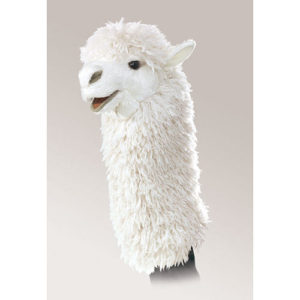 Alpaca Stage Puppet Stage Puppet