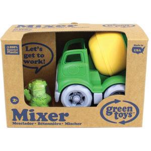 Mixer Construction Truck-green/ Yellow