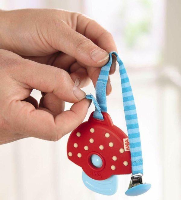 Clutching Toy Mushroom