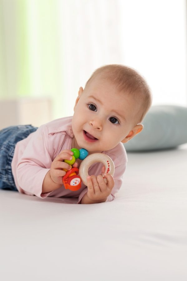 Clutching Toy Rainbow Caterpil