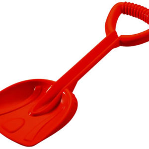 Red Building Shovel