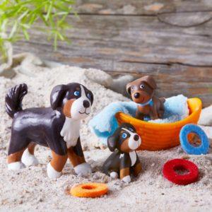 Little Friends Brown & Tricolor Puppy