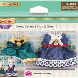 Dress Up Set (Blue & Green)