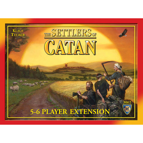 the Settlers of Catan 5 6 Player Extension 4th Edition