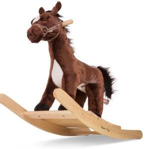 Rock and Trot Plush Rocking Horse