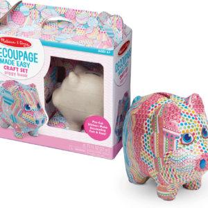 Decoupage Made Easy - Piggy Bank